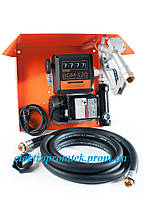 Gamma AC 70 - Мобильная топливораздаточная колонка для топлива с расходометром , 220В, 70 л/мин