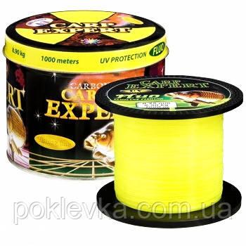 Леска Carp Expert UV Fluo Yellow 1000 м 0.30 мм 12.5 кг (30120830)