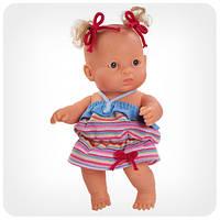 Кукла серии «Пупсы-малыши» - Кукла-пупс девочка в голубом сарафане