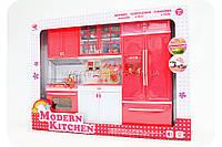 Кухня детская для кукол «Modern kitchen» (свет, звук) QF 26210 PW, фото 1