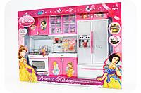 Кухня детская для кукол «Кухня принцесс» (свет, звук) QF 26210 DP, фото 1