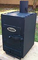 Печка «Буржуйка» двухкамерная с высоким КПД длительного горения