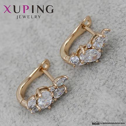 Серьги женские Xuping Jewelry (позолота) - 1111418458, фото 2
