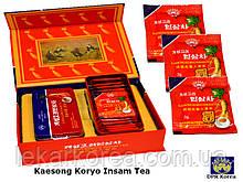 Кэсонский Корё Инсам Чай - Уникальный чай из женьшеня