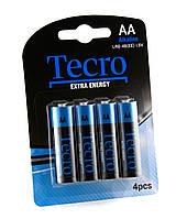 Элементы питания(батарейки) АА Tecro LR6-4B(EE)