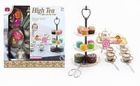 Набор посуды 555-CH027 (12шт) десерты, чайник,чашечки,подставка, в кор. 32,5*27*13 см
