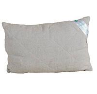 Подушка гипоаллергенная с конопляным наполнителем KonopliUA Бежевый (1-035), фото 1