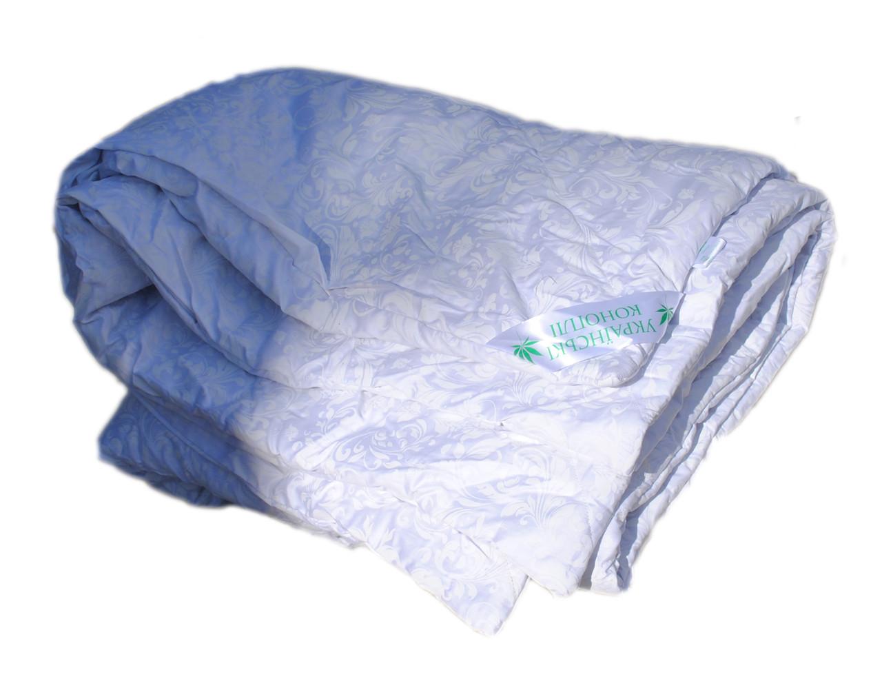 Одеяло с конопляным наполнителем KonopliUA 4 сезона 172х205 см Белый (1-0103)