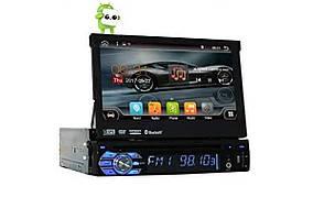 Автомагнитола 1DIN DVD-9501 Android GPS с выезжающим экраном (MD-0510)