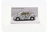 Машинка Kinsmart Wolkswagen new Beetle KT5062W - белая, фото 1