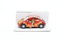 Машинка Kinsmart Wolkswagen new Beetle KT5062W - красная, фото 1
