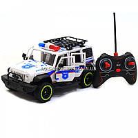 Машинка «Полиция» джип на радиоуправлении 6688-107A (аккумулятор, звук, свет, резиновые колеса)