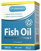 VP laboratory. Жирные кислоты Fish Oil VP.Рыбий жир очень полезен для нашего организма