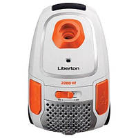 Пылесос мешковой LIBERTON LVC-2245B (65497)
