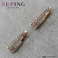 Серьги женские Xuping Jewelry (позолота) - 1111435150