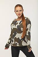Женский свитер MOGUL Marie Flat Knit  Германия Хаки
