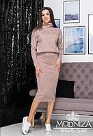 "Женский теплый костюм двойка из ангоры ""Palladium""| Норма, фото 1"