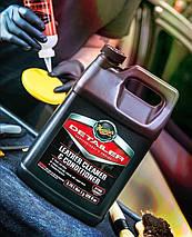 Очиститель и кондиционер для кожи - Meguiar's Detailer Leather Cleaner and Conditioner 3,78 л. (D18001), фото 2