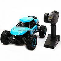 Машинка игрушка Джип на радиоуправлении Голубой (1:14) - свет, звук SL-136A, фото 1