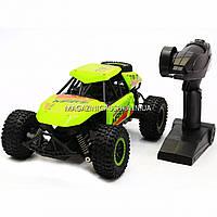 Машинка игрушка Джип на радиоуправлении Салатовый (1:14) - свет, звук SL-136A, фото 1