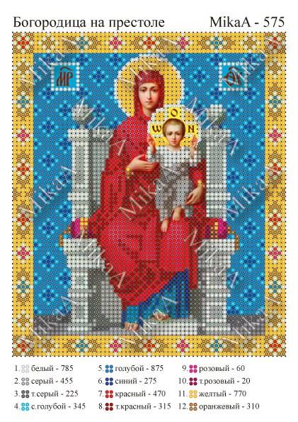 """""""Богородица на престоле """""""