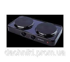 Электроплита (Дисковая) - 002 (2 диска) (ЭЛНА), фото 2