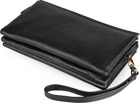 Мужской клатч Vintage 14455 Черный, фото 2