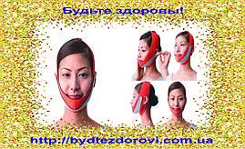 Маска-бандаж для корекції овалу обличчя (друге підборіддя, щоки).