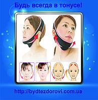 Маска-бандаж для корекції овалу обличчя (другий підборіддя.).