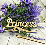 "Заготовка-топпер  ""Princess"", 14,5 х 15 см,  фанера,, фото 2"