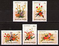 Угорщина 1989 квіти - MNH XF