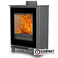 Печь камин чугунная KAWMET Premium S17 (P5) Dekor (4,9 kW)
