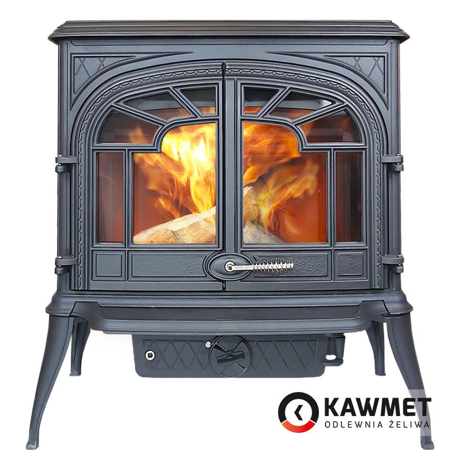 Печь камин чугунная KAWMET Premium S10 (13,9 kW)