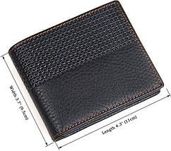 Кошелек мужской Vintage 14452 кожаный Черный, фото 3