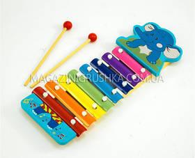 Ксилофон детский «Слоненок» MD 0712
