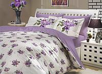 Скидка 40% на постельное белье из поплина полуторное