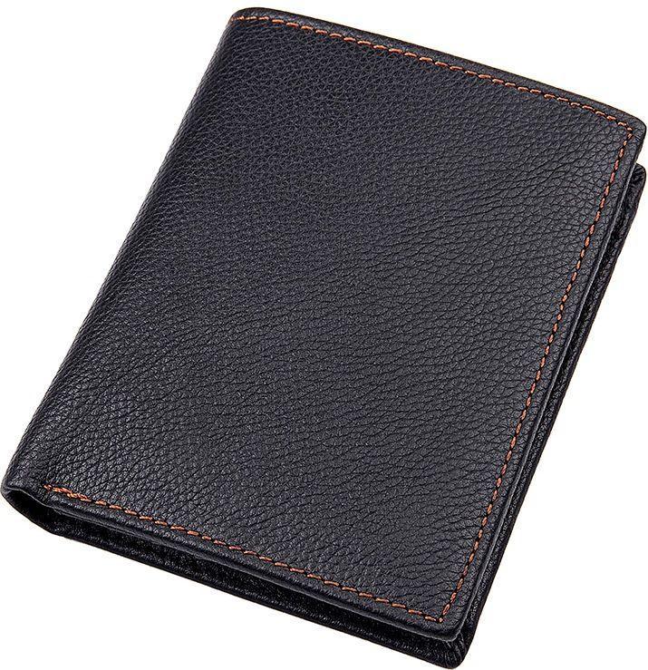 Кошелек Vintage 14598 кожаный Черный