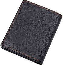 Кошелек Vintage 14598 кожаный Черный, фото 2