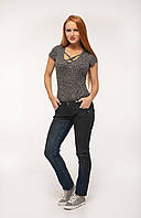 MOGUL женские джинсы Verena Coated Stretch Denim