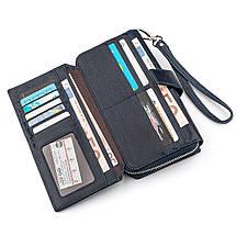 Мужской кошелек ST Leather 18454 (ST128) кожа Синий, фото 3