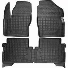 Коврики в салон для Ford Kuga 2013-> черный, кт - 4шт  11355 Avto-Gumm
