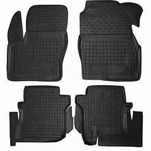 Коврики в салон для Ford Tourneo Connect 2014- /дл.база/ черный, кт - 4шт 11449 Avto-Gumm