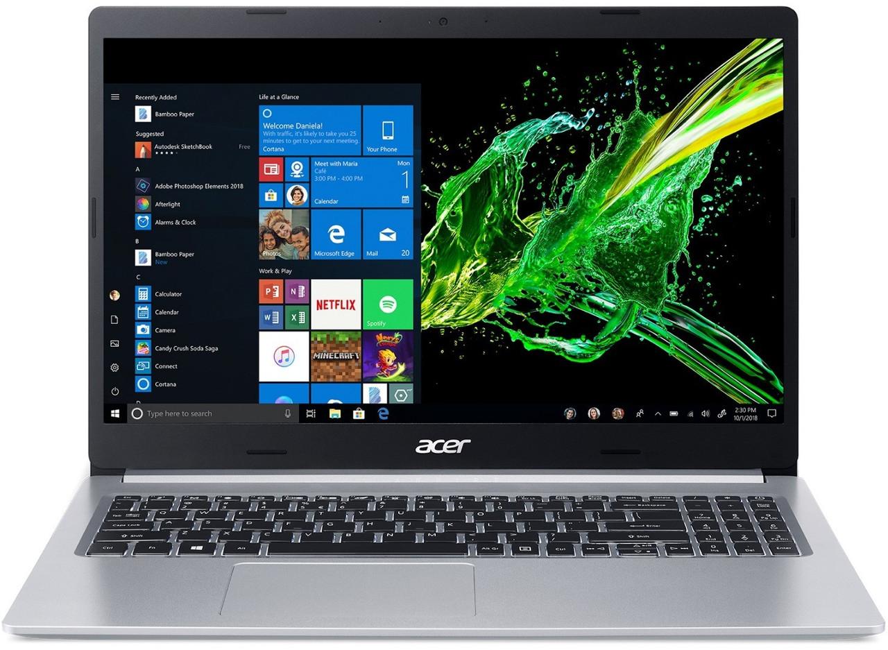 """Ноутбук Acer Aspire 5 A515-54G (NX.HN5EU.00E); 15.6"""" FullHD (1920x1080) IPS LED матовый / Intel Core i5-10210U (1.6 - 4.2 ГГц) / RAM 8 ГБ / HDD 1 TБ +"""