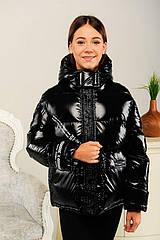 Куртка весенняя для девочки Синди, цвет черный Размеры 134-158