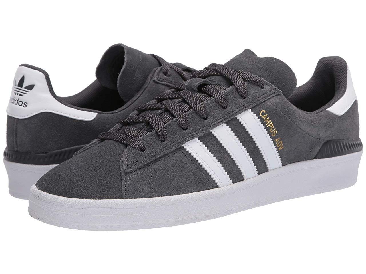 Кроссовки/Кеды (Оригинал) adidas Skateboarding Campus ADV Grey Six/Footwear White/Gold Metallic