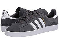 Кроссовки/Кеды (Оригинал) adidas Skateboarding Campus ADV Grey Six/Footwear White/Gold Metallic, фото 1