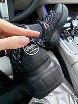 Женские кроссовки в стиле Buffalo London Black, фото 3