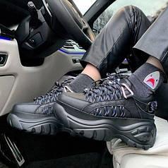 Женские кроссовки в стиле Buffalo London Black