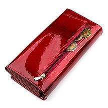 Кошелек женский ST Leather 18392 (S2001A) многофункциональный Красный, фото 3