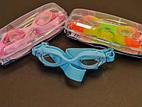 Очки для плавания Sprinter в футляре (детские-подросток)